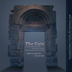 The Gate by kuschelirmel-stock