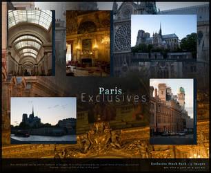 Paris Exclusives Stock Pack by kuschelirmel-stock
