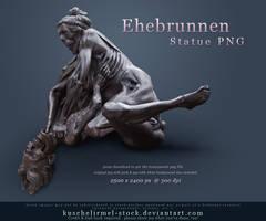 Ehebrunnen Statue PNG by kuschelirmel-stock
