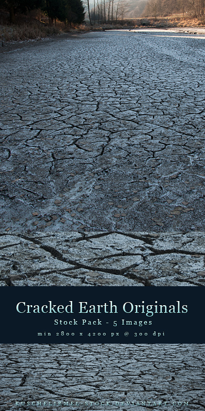 Cracked Earth Originals Stock Pack by kuschelirmel-stock