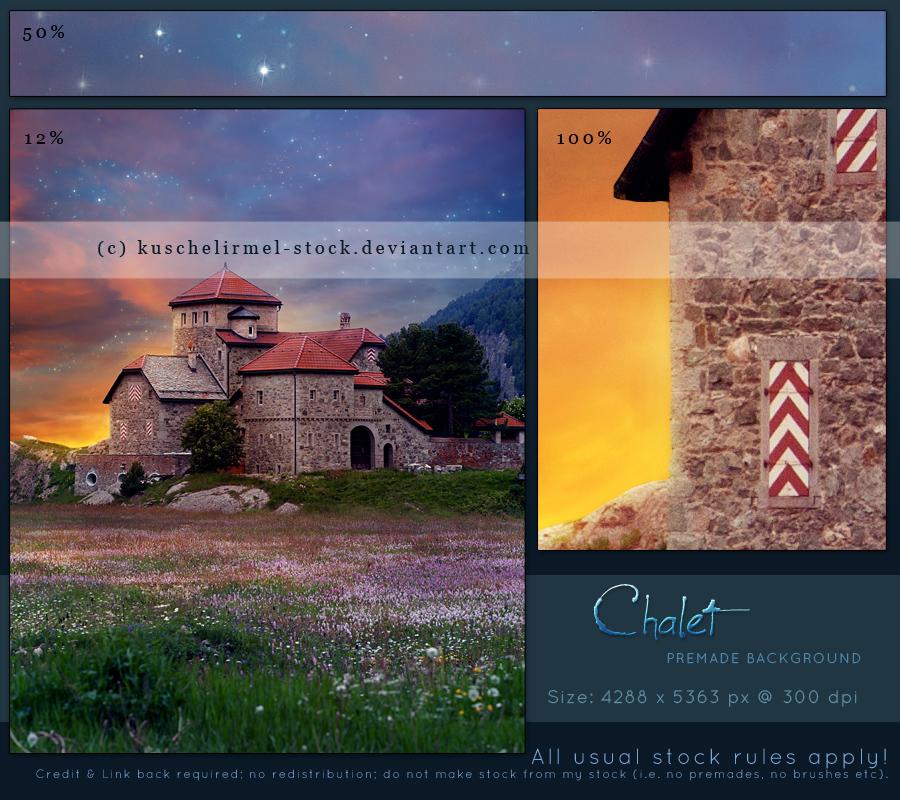 Chalet Premade by kuschelirmel-stock