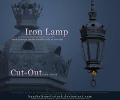 Iron Lamp Cut Out by kuschelirmel-stock