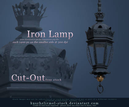 Iron Lamp Cut Out
