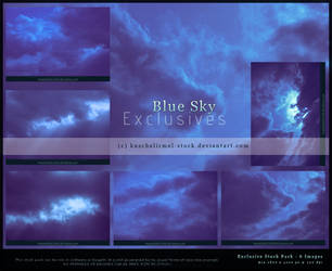 Blue Sky Exclusives by kuschelirmel-stock