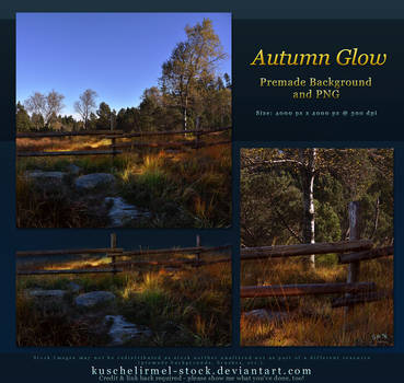 Autumn Glow Premade + PNG