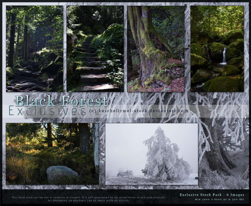 Black Forest Exclusives by kuschelirmel-stock