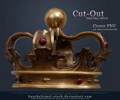 Crown Cut-Out PNG by kuschelirmel-stock