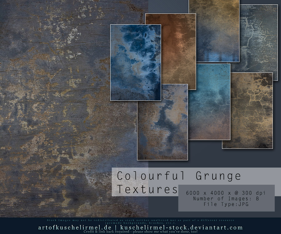 Colourful Grunge Textures