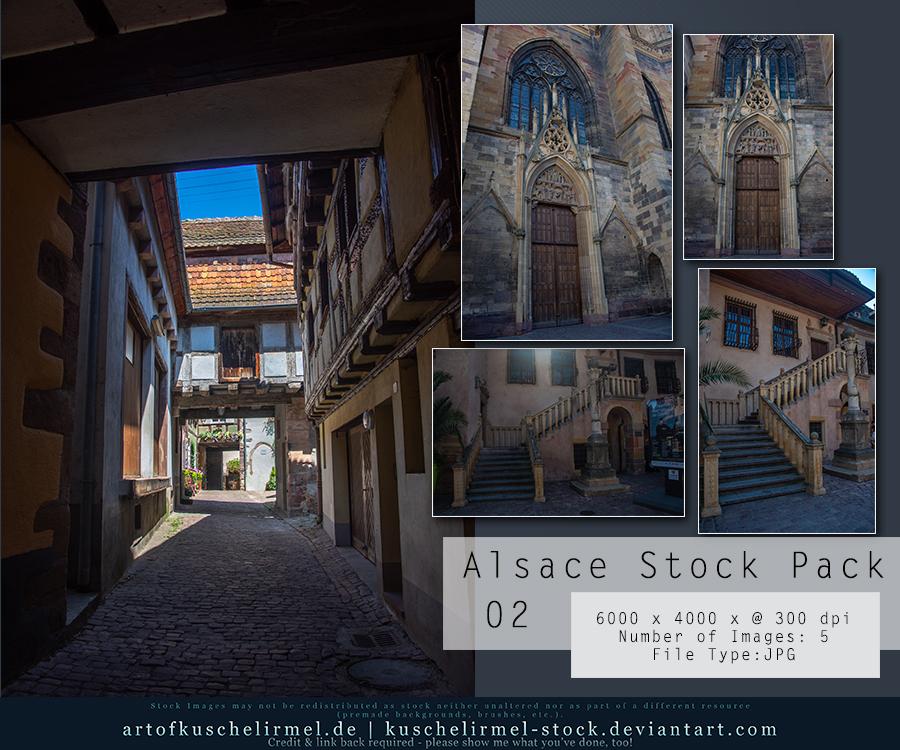 Alsace Stock Pack 02 by kuschelirmel-stock
