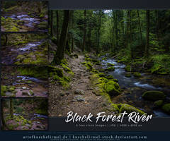 Black Forest River Stock Pack by kuschelirmel-stock