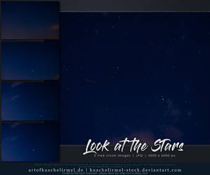 Look at the Stars - Stock Pack by kuschelirmel-stock