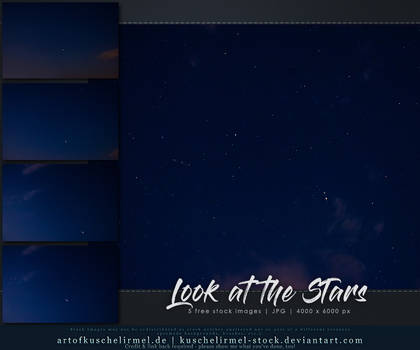 Look at the Stars - Stock Pack