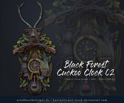 Black Forest Cuckoo Clock 02 Precut Stock