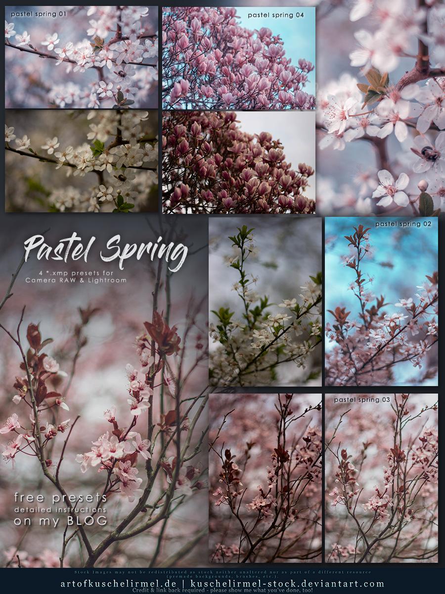 Pastel Spring - Free Lightroom + CameraRAW Presets by