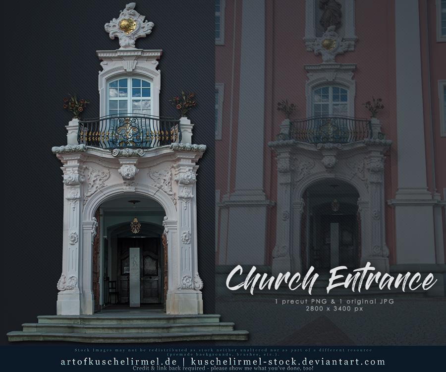 Church Entrance precut