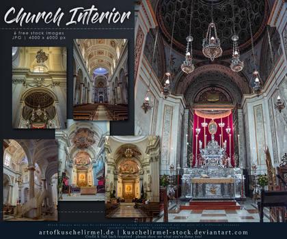 Church Interior Stock Pack by kuschelirmel-stock