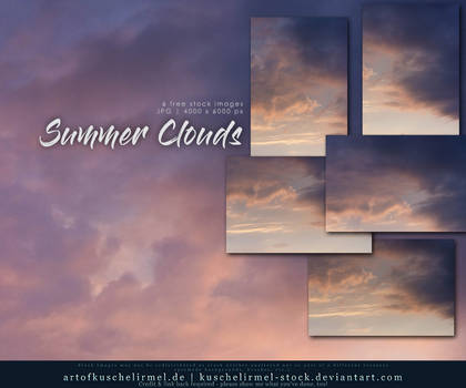 Summer Clouds - Free Stock Pack