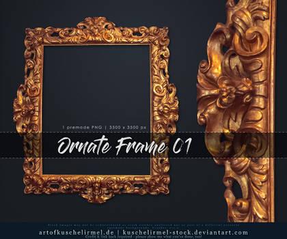 Ornate Frame 01 precut