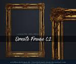 Ornate Frame 02 precut by kuschelirmel-stock