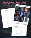 Free Action Template - Instagram 3x3 Grid