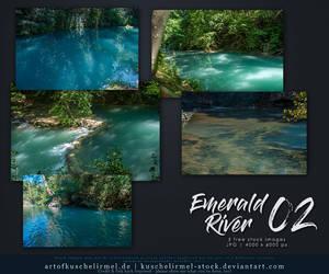 Emerald River 02 Stock Pack by kuschelirmel-stock
