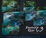 Emerald River 03 Stock Pack by kuschelirmel-stock