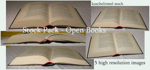 Stock Pack - Open Books