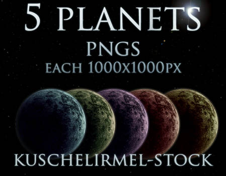 Planets Stock Pack