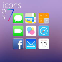 iOS 7 Icons (Rounded Edges) by cbteam
