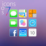 iOS 7 Icons (Rounded Edges)