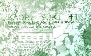 Kaori Yuki Brush Set 1 by Coyr