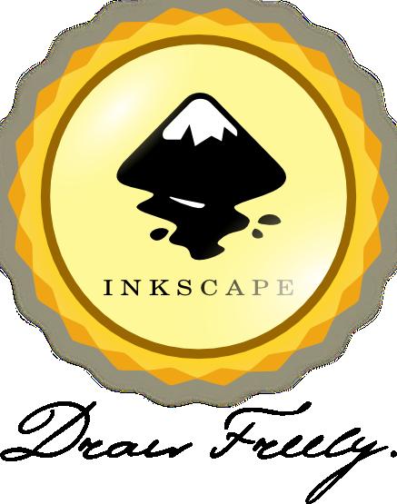 inkscape sticker badge style by rockraikar