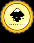 inkscape sticker badge style