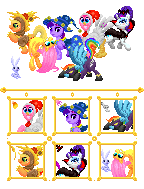 Nightmare Night 2012 Icon/Cursor Pack by kirigakurenohaku