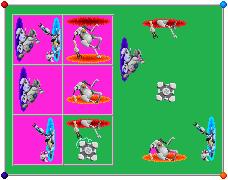 Portal 2 Desktop Scene Icon Set by kirigakurenohaku