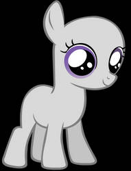 Base Filly for OCs by Ironfruit