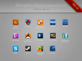 Alternative Faenza Icons Vol.2 by minstreldesign