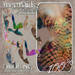 Stock - 3D Mermaids