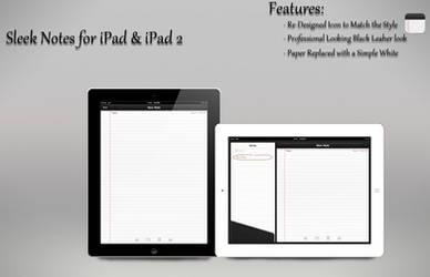 Sleek Notes iPad UI