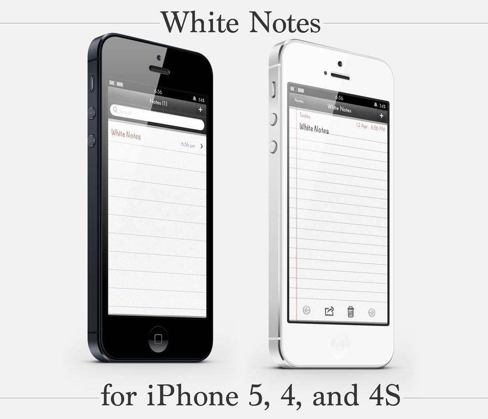 White Notes by PauloRuberto