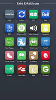 Extra Enkelt Icons