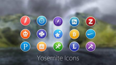 Custom Round Yosemite Icons