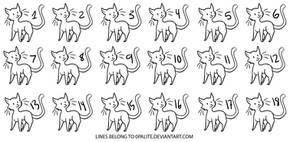 Free Cat Adoptable Lines (OLD)