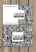 tarjeta personal by todoilustracion