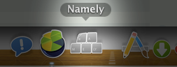 Namely App Sticker Icon by Kaypearl