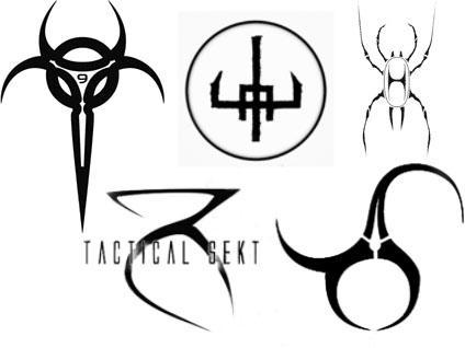 Electro Band Logos Brushes by VampyyriBathory