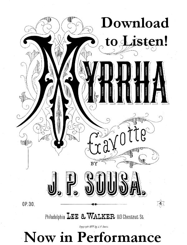 Myrrha Gavotte by AdamCuerden