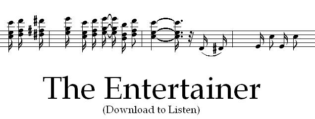 The Entertainer - Scott Joplin by AdamCuerden