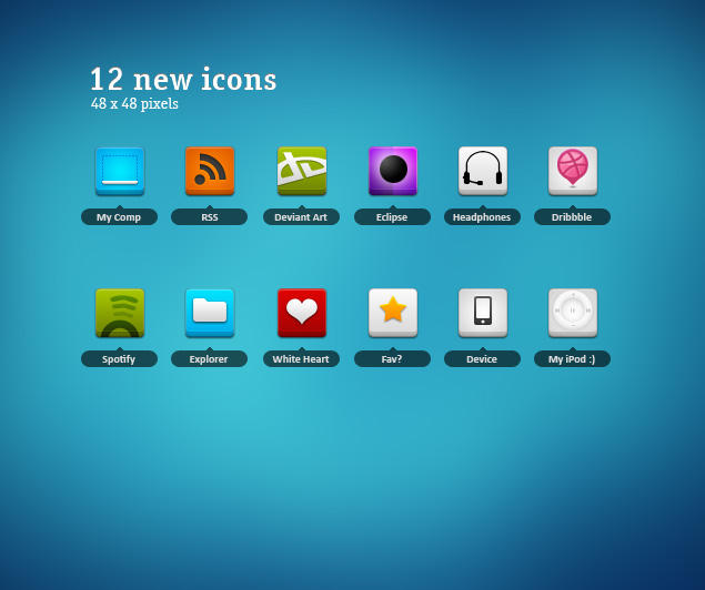 48px icons 4 by neweravin