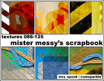 Messy Scrapbook Icon Textures